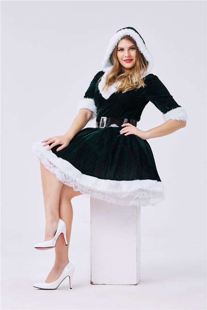 2020 новый дизайн горячий сладкий костюм Рождественский для взрослых Рождественский женский костюм