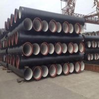 Water Pressure Ductile Iron Pipe Class K9 Price Cast Iron Pipe Manufacturers /Ductile Iron Pipe Pricing/DI Pipe