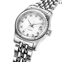 Custom Logo Swiss High-end Brand Ladies Automatic Mechanical Watch