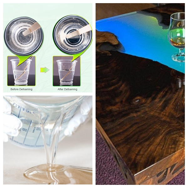 Elegant Epoxy Resin for River Table Top with Transparent