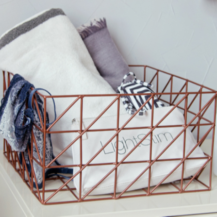 New wire mesh <strong>storage</strong> <strong>baskets</strong> mental sundries <strong>baskets</strong> for magazines
