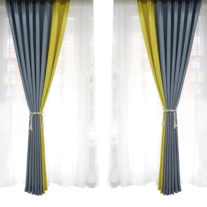 Linen Fabric Shading <strong>Curtain</strong> <strong>for</strong> Living Room