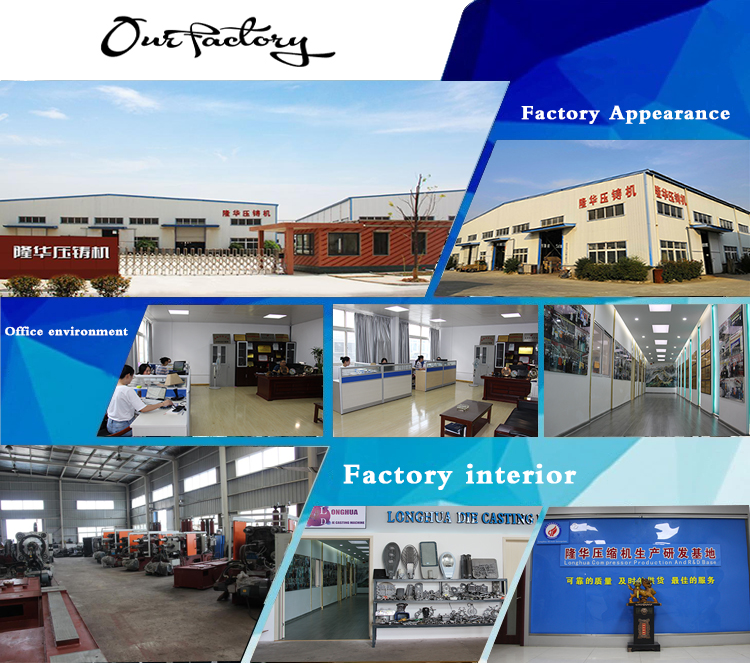 Aluminium alloy cold chamber die casting machines for making LED lighting/brass door handle