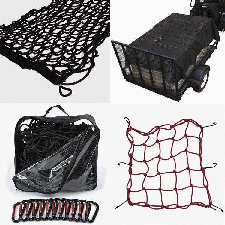 Container cargo net kunststoff haken 4x4 cargo net