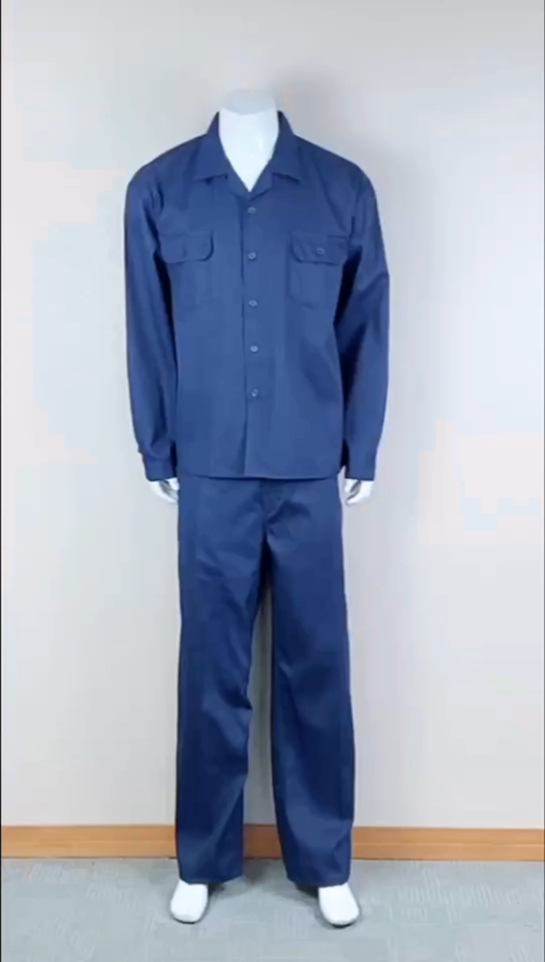 Custom workwear uniform 100% cotton prison uniforms
