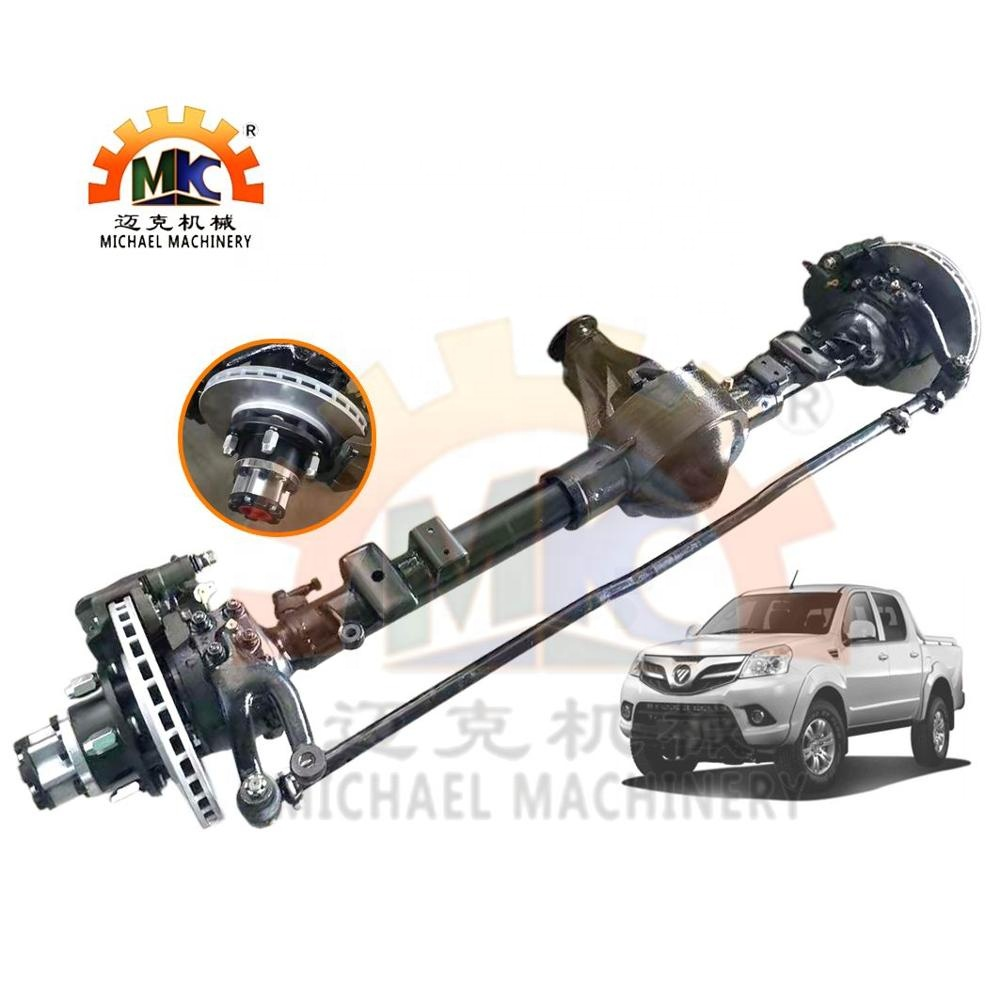 4x4/4WD SUV Car Foton Tunland Pickup  Front Wheel Drive Axle with E-Locker Differential