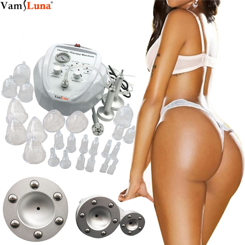 Vacuum Breast & Buttock Augmentation Body Massager, Natural Breast Enlargement Machine,Professional Big Breast Machine