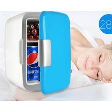 Портативный мини-холодильник 4L, портативный автомобильный холодильник с морозильной камерой, универсальный автомобильный холодильник(Китай)
