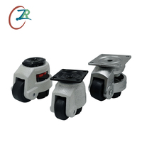 Adjustable Industrial Casters Leveling Heavy Duty Caster Wheels