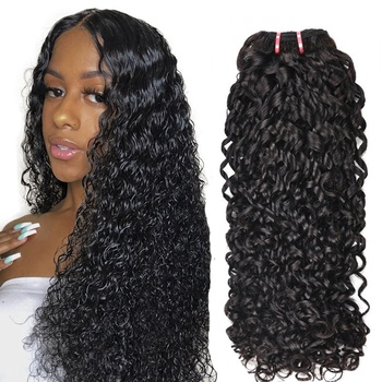 New arrival cuticle aligned pixie curl natural black remy human hair products