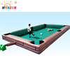 inflatable Human Billiards /giant inflatable sports games/inflatable table game