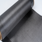 Light weight twill weave carbon fiber cloth