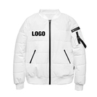 Customized Logo Printing 2019 new fashion casual work winter wear stand collar men's plus size jackets warm clothes