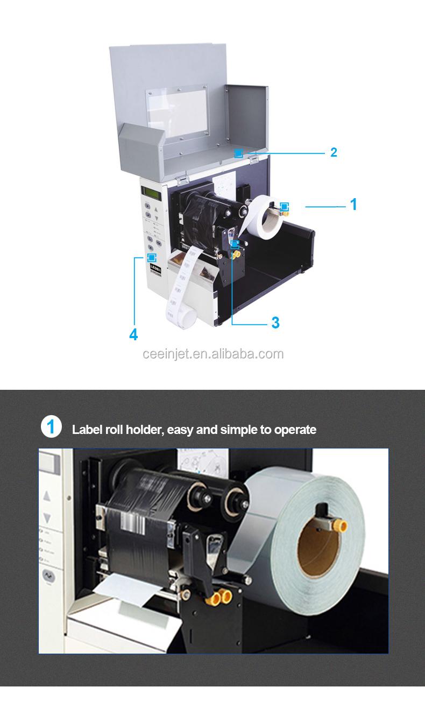 China Grote Fabriek Goede Prijs roll om label laser printer