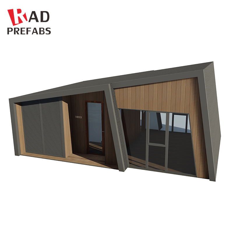 RAD Luxury ecofriendly homes prefabricated tiny container houses for living