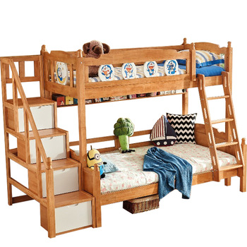 009 Wooden Bunk Beds Double Cot Bunk Beds Kids Bunk Bed