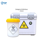 UN2814 mini portable cooler box for medicine vaccine blood collection