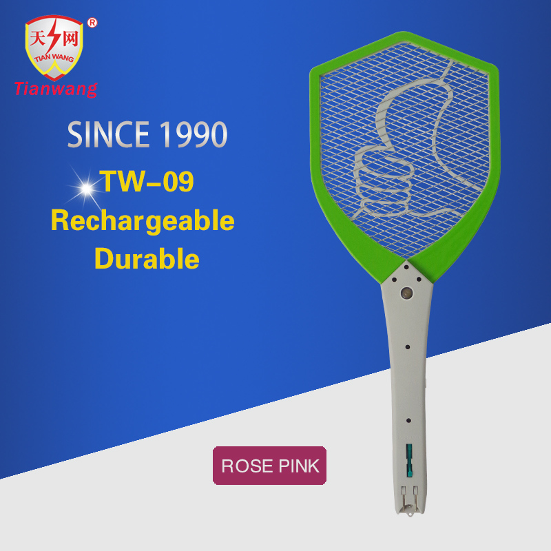 rechargeable fly killer bat electric mosquito racket for pest control