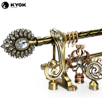 India market home decor and accessories curtain pole hot sale curtain pipe