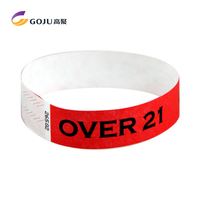 Paper Tyvek Wristbands Manufacture, Waterproof Custom Wrist Bands For Events
