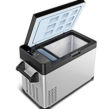 30/40/55/65L AC/DC12V24V автомобильный холодильник, автомобильный холодильник с морозильной камерой, портативный мини холодильник, холодильник для к...(Китай)