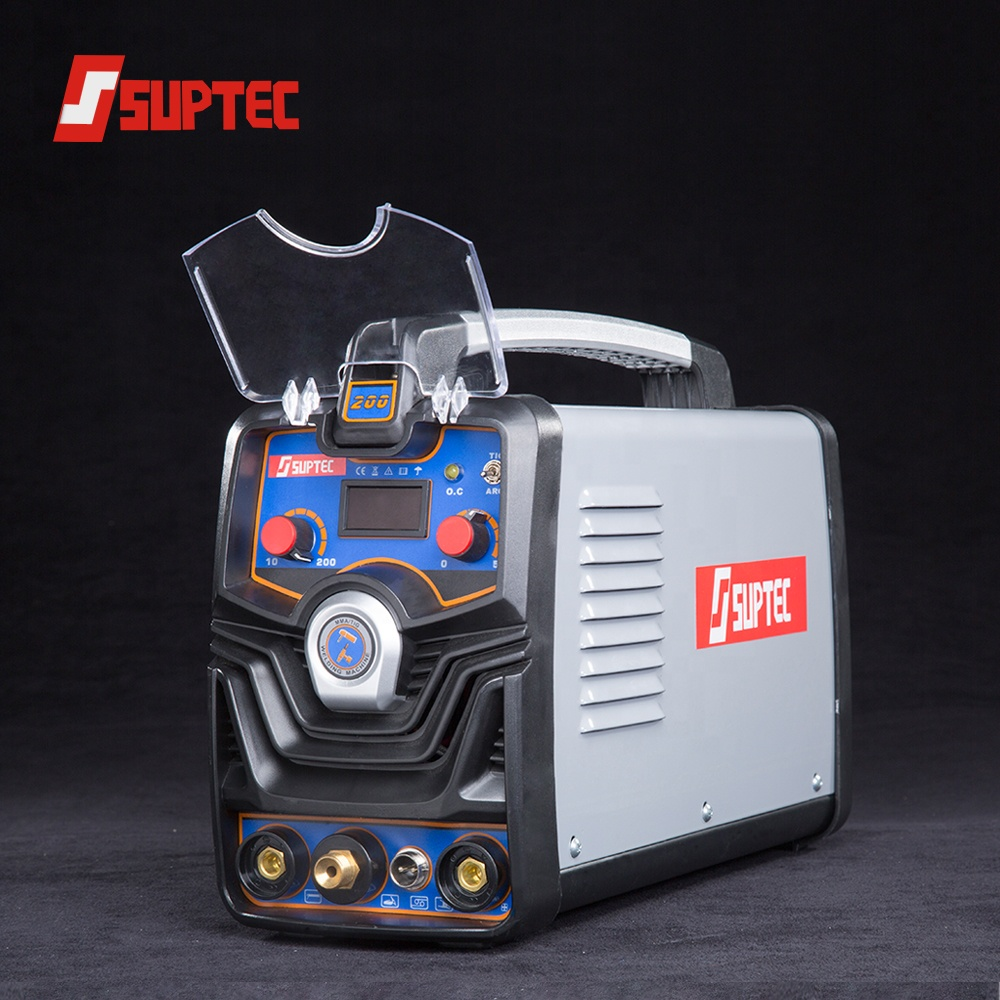 suptec Cheap price electric ac dc inverter welder soldador tig 200 amp tig welding machine