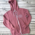 Personalized Lightweight Fleece Monogram Full Zip Hoodie