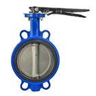 Rubber Seat Aluminum Alloy Handle KITZ Butterfly Valve wafer Wafer Valve butterfly