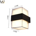 Wanli Modern Sconce Light 24W Hardwired LED Wall Lights Up Down Wall Lamp Indoor outdoor for Bedroom Hallway illuminating paths