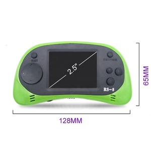 RS-8 Handheld Game Console for Kids Built in 260 Classic Old Video Games 2.5Lcd Retro Arcade Gaming Player TV out Birthday Gift