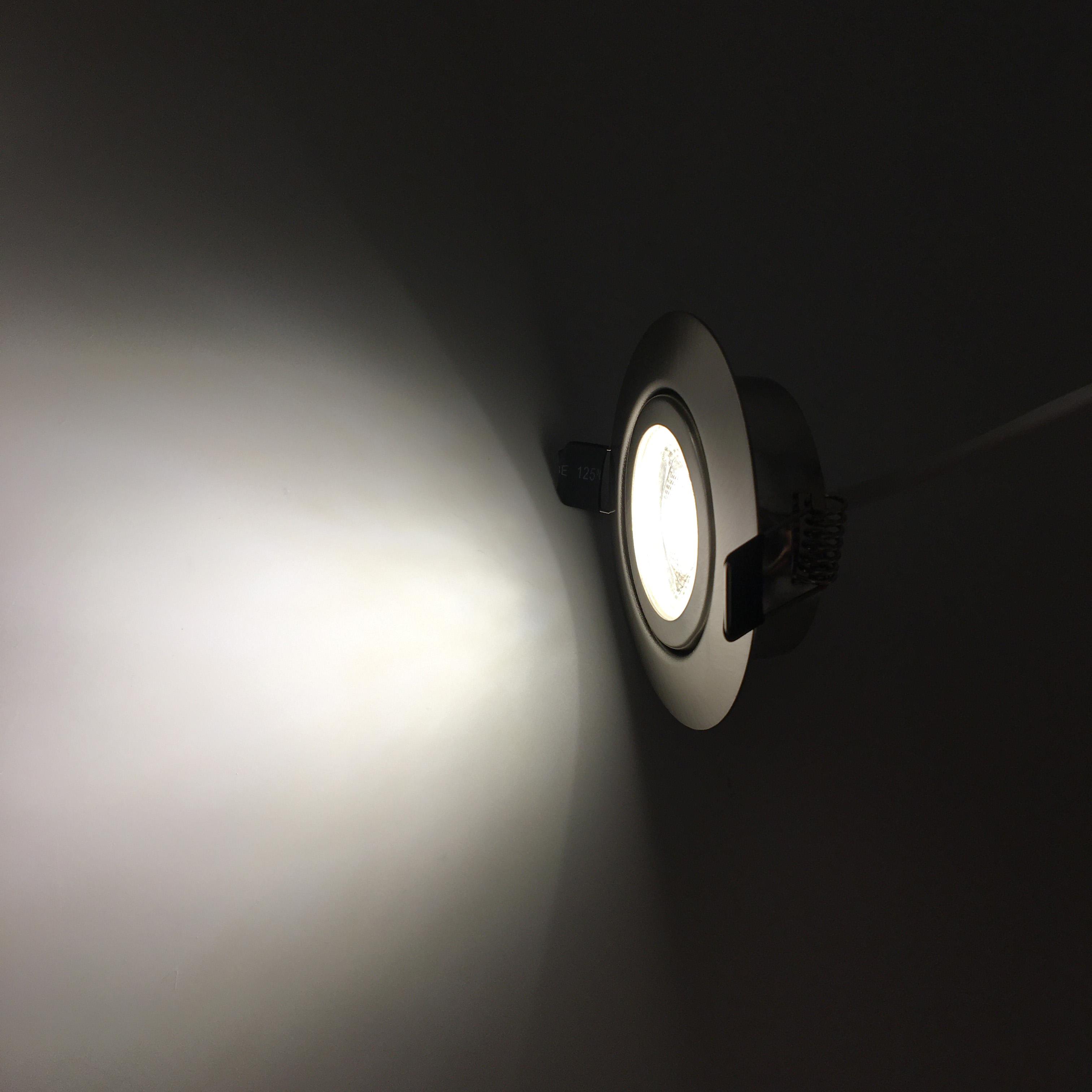 3000K  6000K Super Slim Downlight Dimmable Spot Light LED Embedded Ceiling Spotlight