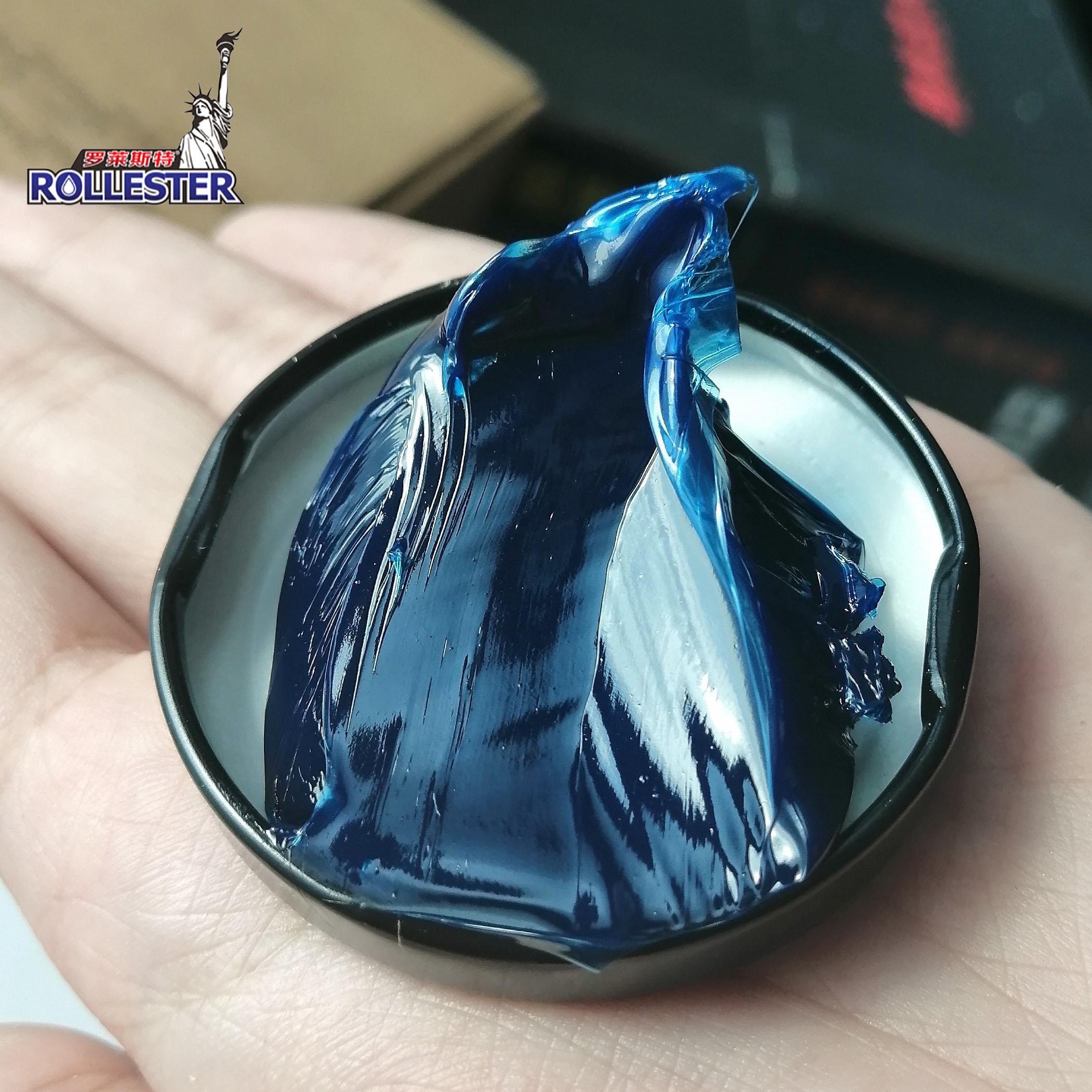 حار بيع ممتازة موبيل جودة عالية رتبة الأزرق اللون زيوت التشحيم HT قطرة نقطة 380 درجة عالية درجة الحرارة الشحوم