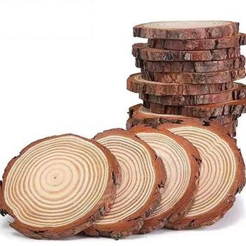 2021 Manufacturers custom natural wood disc diy hand-painted logs crafts wood