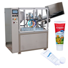 Hot sale Automatic plastic tube filling and sealing machine for cosmetic cream, lotion toothpaste