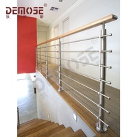 foshan demose metal railing balcony stainless steel railing design