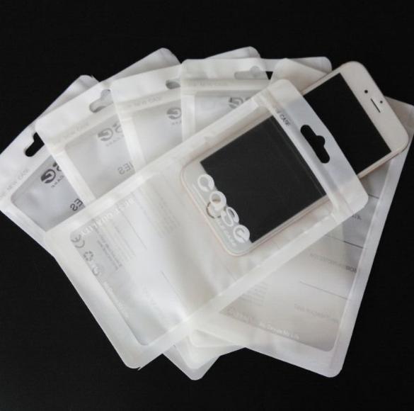 Custom printed supplier 3 side seal USB cable zipper lock bag phone case plastic bag packaging