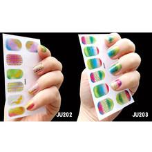 Наклейки на ногти из фольги, самоклеющиеся наклейки для ногтей, наклейки для воды, переводные наклейки, украшения для ногтей(Китай)