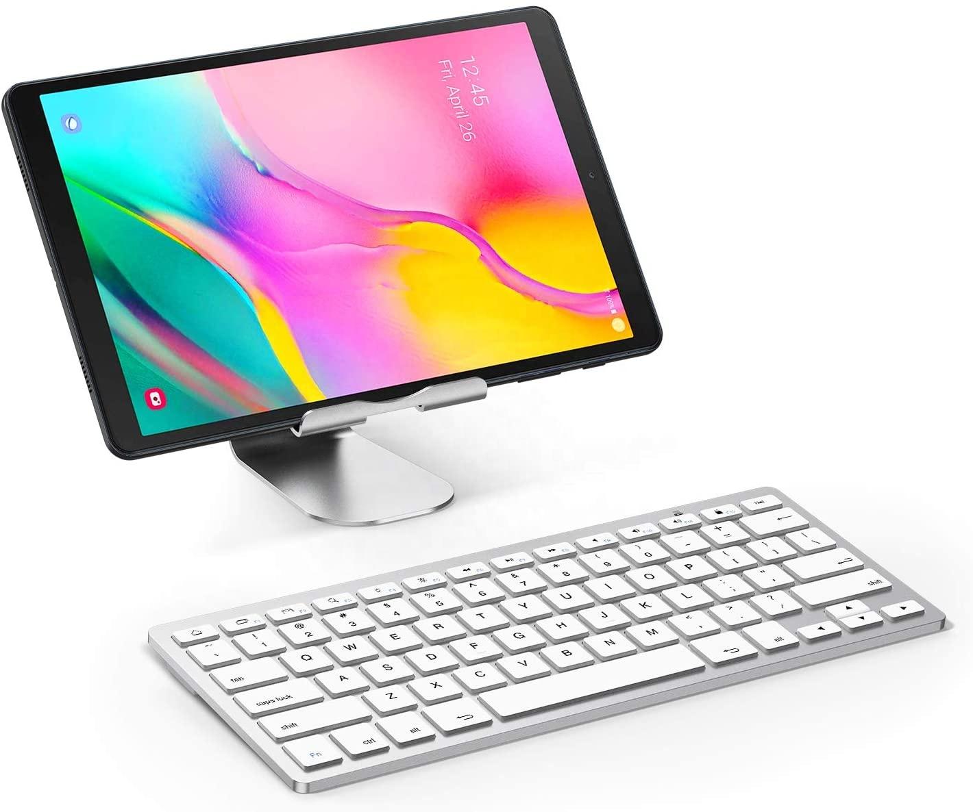 Самая популярная клавиатура для планшета, тонкая клавиатура Bluetooth
