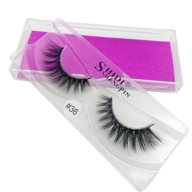 3D mink eyelashes natural long eyelashes 1 pair