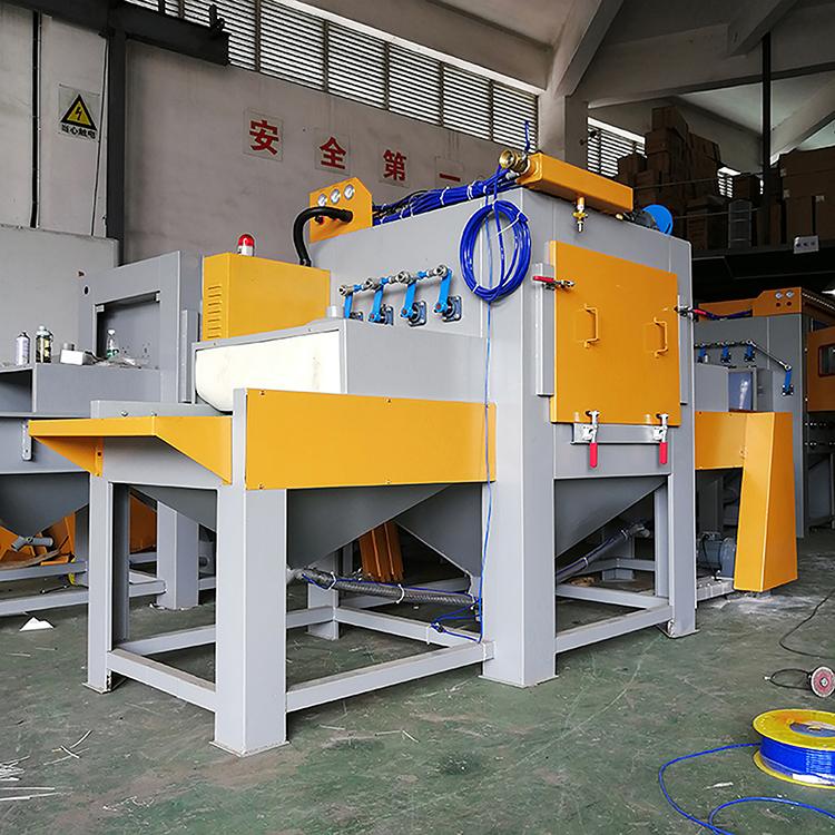 Machine de combustion de sable automatique, sous film pendentif, production d'usine de machine à sable