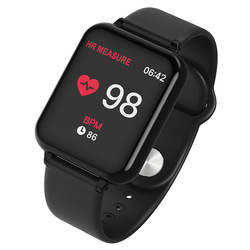 Quality goods Heart Rate Monitor Health Blood Pressure Fitness Tracker Smartwatch For IOS Android phones