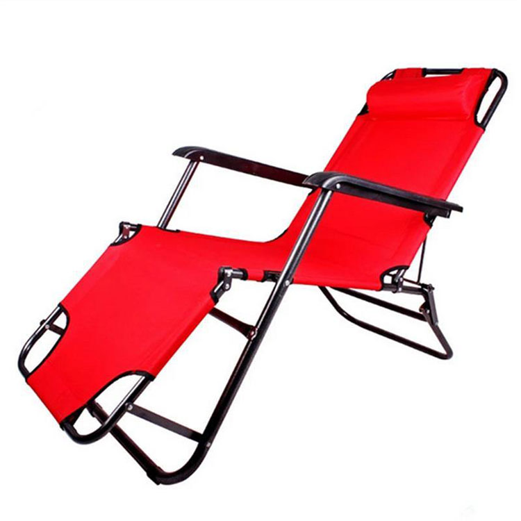 New Products 2020 Portable Lightweight Canvas Lounge Chairs Outdoor, Wholesale Camping Chaise Longue
