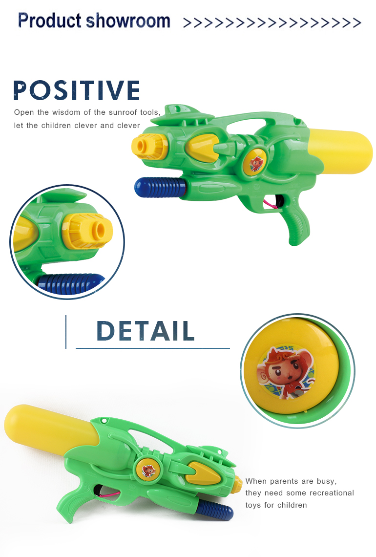 Outdoor summer plastic children hand boys and girl powerful water pump gun