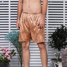 Для мужчин s, для сна, нательное белье сексуальное Для мужчин пижамные шорты брюки Для мужчин s шелковый атлас мужской пижамы пижамные штаны ...(Китай)