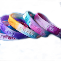 High Quality Custom Rubber wristband Silicone Bracelet wrist band