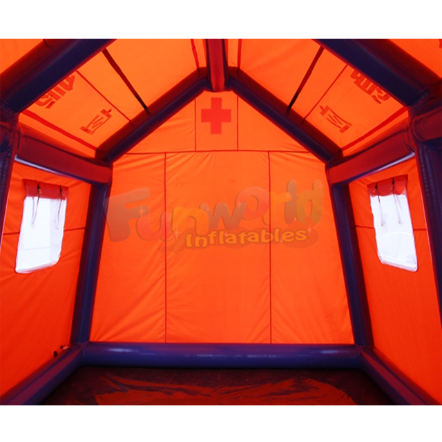 Field inflatable shelter hospitales de campana tente de secours for disaster relief