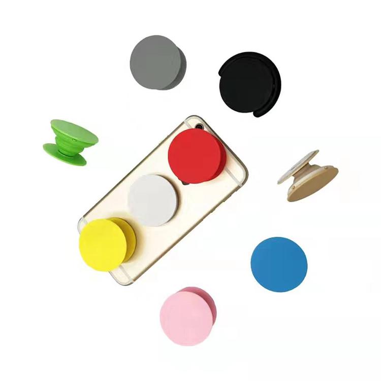 Wholesale Custom Popular Phone Socket Popular Collapsible Finger Ring Phone Holder Sockets for Cell Phone