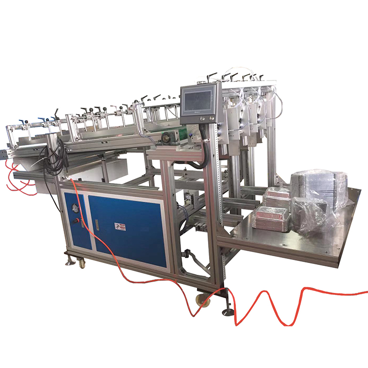 Aluminium Foil Container Machine Fully Automatic Kitchen Foil Tray Making Machine