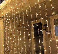 3m Fairy Stars Christmas Lights Window Wedding Waterfall Twinkle Hotel Electronic Led String elevator Light Curtain