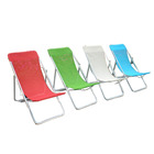 Tube Beach Outdoor Folding Beach Chair SBC019B Hot Selling Lying Chair Folding Steel Tube Beach Chair Outdoor